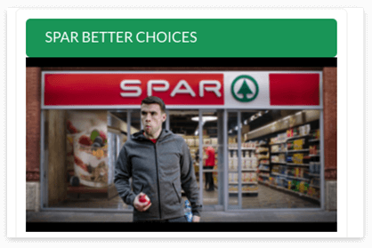 SPAR - Screen 3  - Hiteshi Portfolio