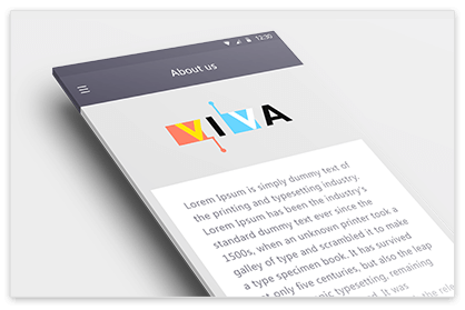 Viva - Screen 5  - Hiteshi Portfolio